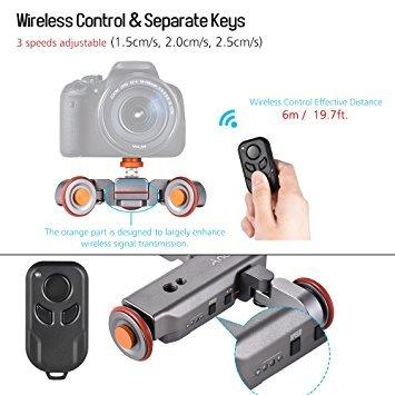 andoer l4 video kamera slider dolly digitalkamera test 2019. Black Bedroom Furniture Sets. Home Design Ideas