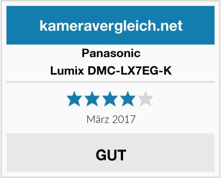Panasonic Lumix DMC-LX7EG-K Test