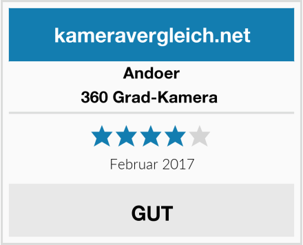 Andoer 360 Grad-Kamera  Test
