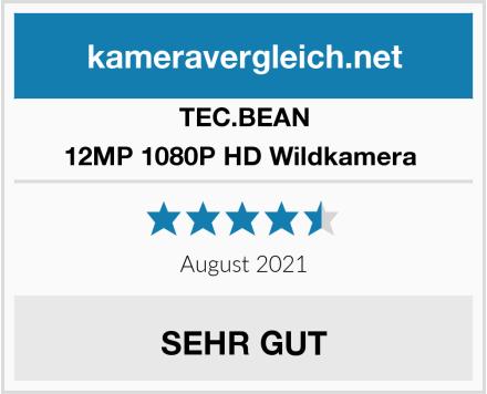 TEC.BEAN 12MP 1080P HD Wildkamera  Test