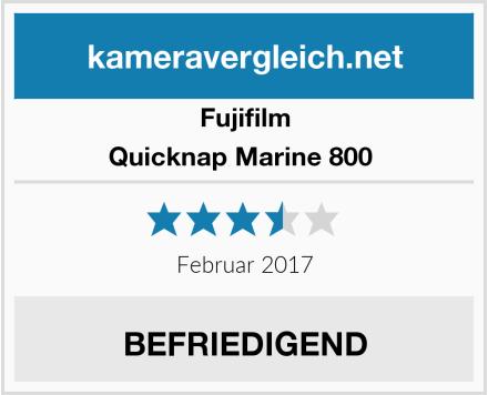 Fujifilm Quicknap Marine 800  Test
