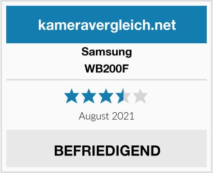 Samsung WB200F Test