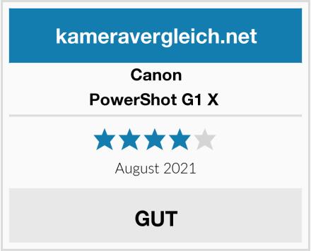 Canon PowerShot G1 X  Test