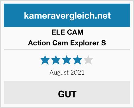 ELE CAM Action Cam Explorer S Test