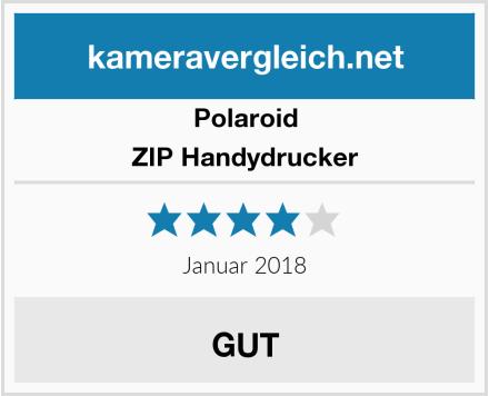 Polaroid ZIP Handydrucker Test