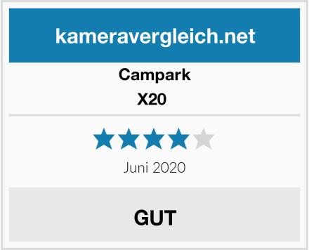 Campark X20  Test