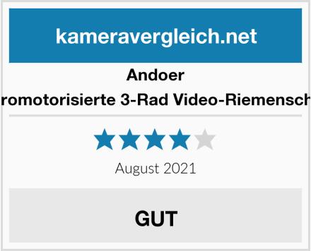 Andoer Elektromotorisierte 3-Rad Video-Riemenscheibe  Test