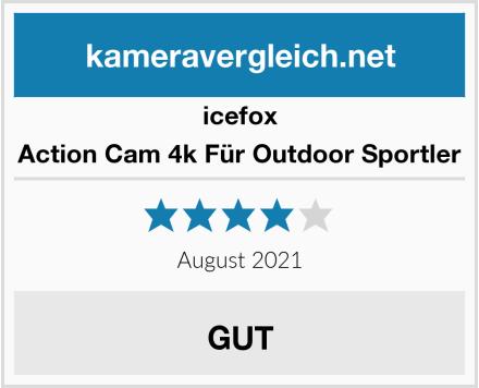 icefox Action Cam 4k Für Outdoor Sportler Test