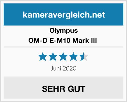 Olympus OM-D E-M10 Mark III  Test