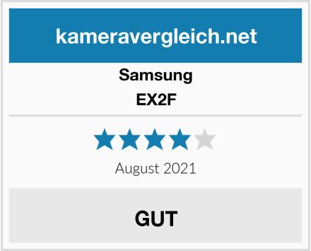 Samsung EX2F Test