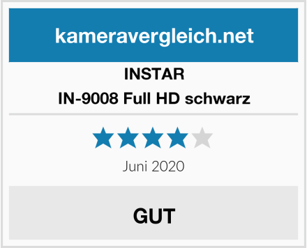 INSTAR IN-9008 Full HD schwarz Test