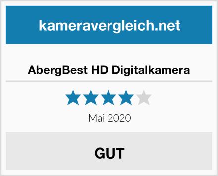 AbergBest HD Digitalkamera Test