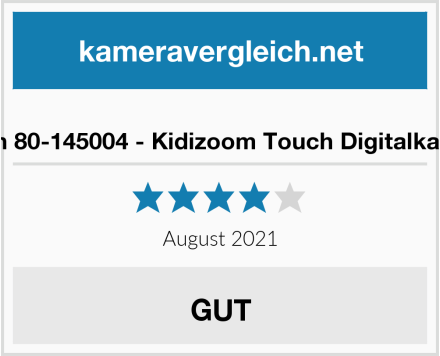 Vtech 80-145004 - Kidizoom Touch Digitalkamera Test