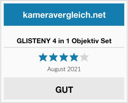 GLISTENY 4 in 1 Objektiv Set Test