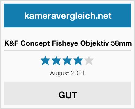 K&F Concept Fisheye Objektiv 58mm Test