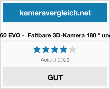 No Name Insta360 EVO -  Faltbare 3D-Kamera 180 ° und 360 ° Test