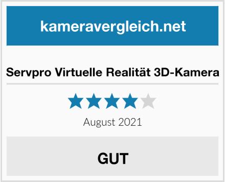 Servpro Virtuelle Realität 3D-Kamera Test