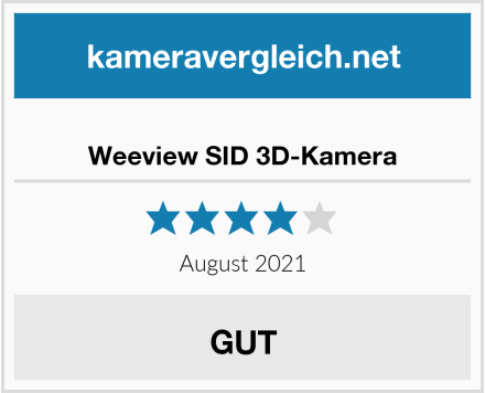 Weeview SID 3D-Kamera Test