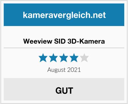 Weeview SID 3D-Kamera Test