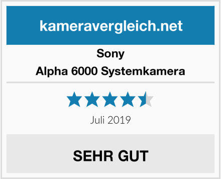 Sony Alpha 6000 Systemkamera Test