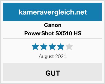 Canon PowerShot SX510 HS Test