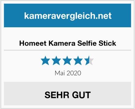 Homeet Kamera Selfie Stick Test