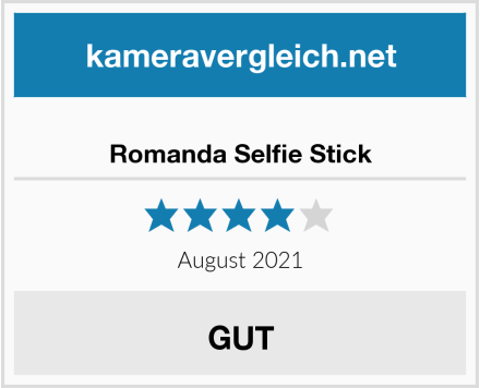 Romanda Selfie Stick Test