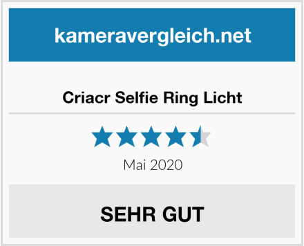 No Name Criacr Selfie Ring Licht Test