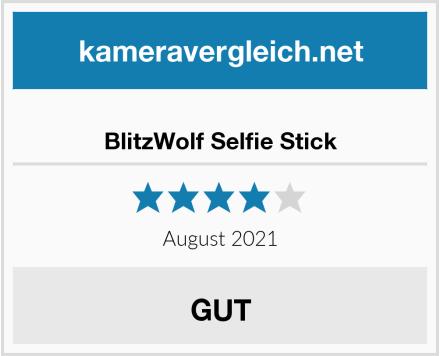 BlitzWolf Selfie Stick Test