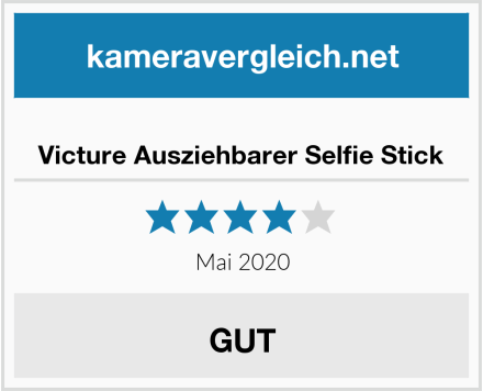 No Name Victure Ausziehbarer Selfie Stick Test