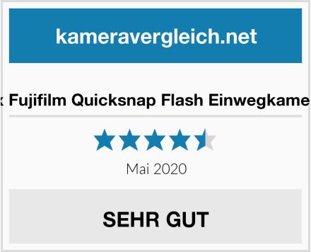 No Name 5x Fujifilm Quicksnap Flash Einwegkamera Test