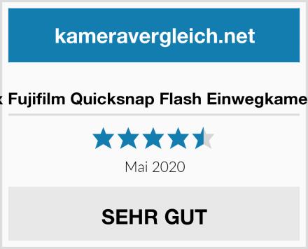 5x Fujifilm Quicksnap Flash Einwegkamera Test