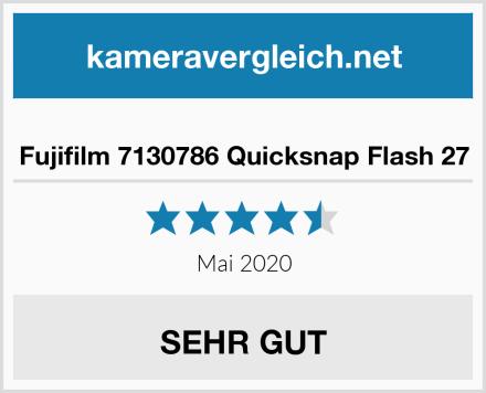 Fujifilm 7130786 Quicksnap Flash 27 Test