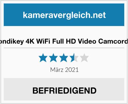 Condikey 4K WiFi Full HD Video Camcorder Test