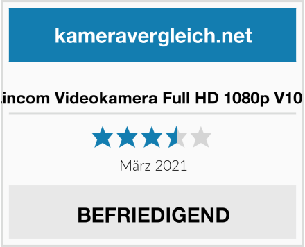 Lincom Videokamera Full HD 1080p V10D Test