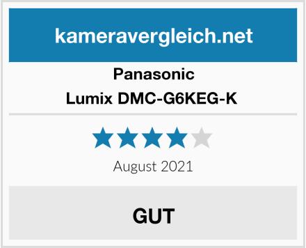 Panasonic Lumix DMC-G6KEG-K  Test