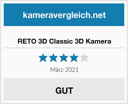 RETO 3D Classic 3D Kamera Test