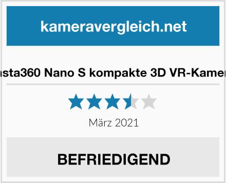 Insta360 Nano S kompakte 3D VR-Kamera Test