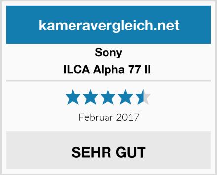 Sony ILCA Alpha 77 II  Test