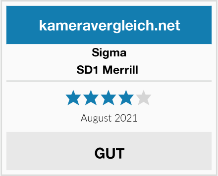 Sigma SD1 Merrill  Test
