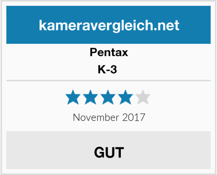 Pentax K-3  Test