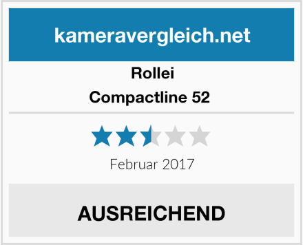 Rollei Compactline 52  Test