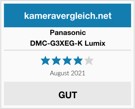 Panasonic DMC-G3XEG-K Lumix Test