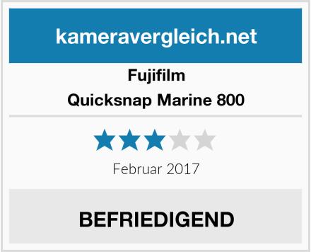 Fujifilm Quicksnap Marine 800 Test