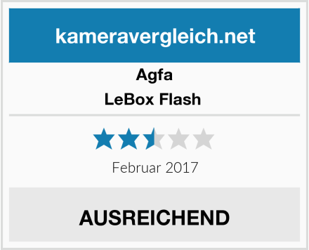 Agfa LeBox Flash  Test
