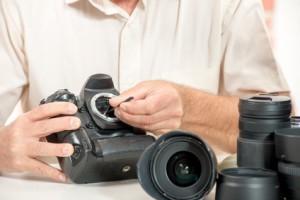 Reinigung und Pflege von Digitalkameras