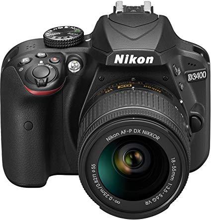 Nikon D3400 + 18 – 55 DX VR