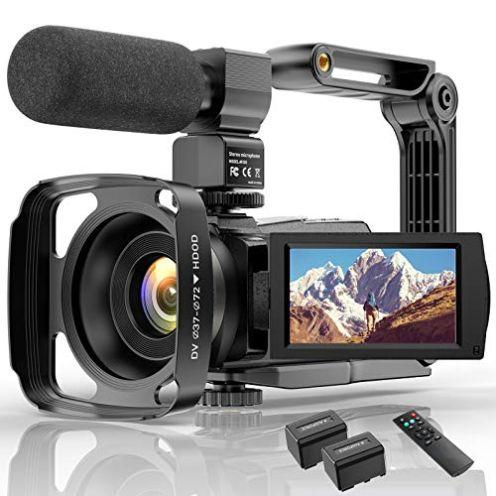 Condikey 4K WiFi Full HD Video Camcorder