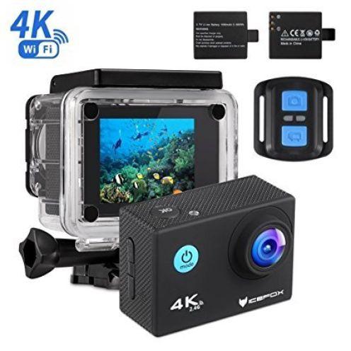 icefox Action Cam 4k Für Outdoor Sportler