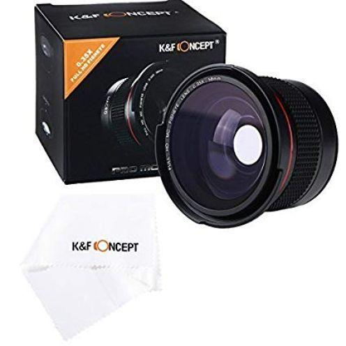 K&F Concept Fisheye Objektiv 58mm